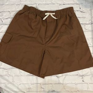Girl Scouts of America Brownie Shorts Large NWT